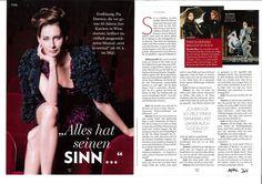 "Pia Douwes im ""look!""-Magazin"