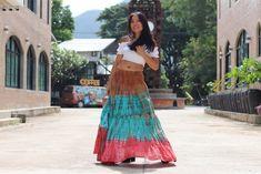 Tie Dye Skirt /Boho Tie Dye Skirt/ Long Skirt / Long Boho Skirt / Maxi Skirt / Full Length Skirt / Boho Beach Skirt / Modest Skirt / Modest Skirts, Maxi Skirts, Boho Skirts, Full Length Skirts, Plus Size Skirts, Beautiful Long Dresses, Beautiful Ladies, Tie Dye Skirt, Dress Skirt