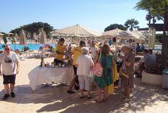 No Adriana Beach Club Hotel Resort nada como uma boa e fresca sangria de champanhe a meio da tarde - 2013