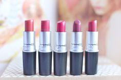 top 5 mac lipsticks, best lipstick shades for asian/chinese skin tone