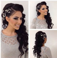 Wedding hair and make up possibly