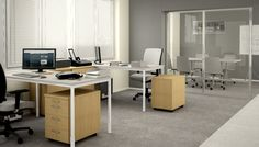Available in three leg options, Manhattan offers comprehensive solutions for open-plan office environments.  http://maxfurniture.co.uk/workstations_manhattan
