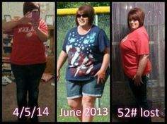 WAY TO GO CHARITY!!!!! SHE LOST 52 POUNDS & OVER 75 INCHES TOTAL ... 6 MONTHS