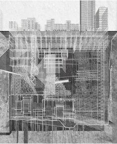 Underground City byXinyang Chen