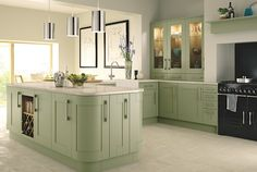 kitchen wrap around island | Five inspirational kitchen ideas | Homes and Antiques
