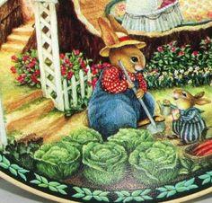 Susan Wheeler Easter   about Susan Wheeler HOLLY POND HILL Bunny Rabbits Garden Easter ...