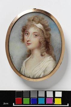 Miniature portrait c.1800, VandA P.41-1952