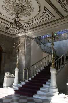 interior, Castillo de Chapultepec, Mexico City.  Photo: mono479