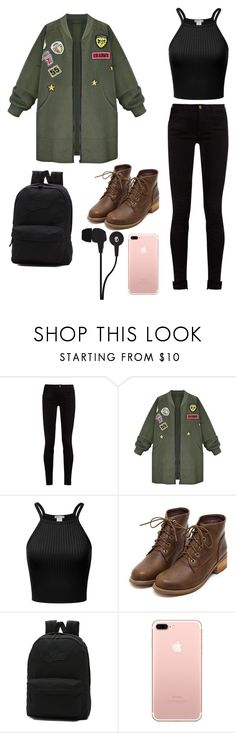 """""""school style"""" by damlastyle ❤ liked on Polyvore featuring Gucci, WithChic, Vans and Skullcandy"""