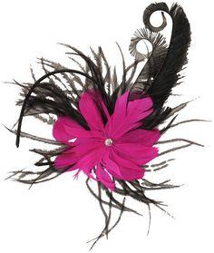 Feathered Flapper Headband - Feathered Headbands