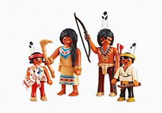 The only girl Indian/Native American. Western PLAYMOBIL® USA