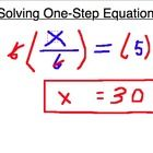 This a worksheet that contains 100 One Step Equations , example:  x + 2 = 44  3x = 27   Enjoy!   My Quizzes:    