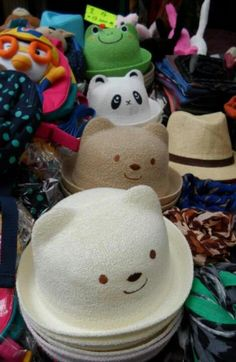 animal hats #korea