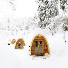 PODhouse - prefabricated modules that can be assembled to form a nice sustainable micro home.