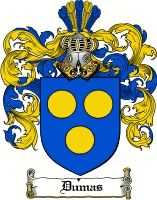 Dumas Coat of Arms / Dumas Family Crest