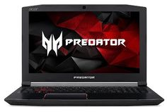 "Acer Predator Helios 300 Gaming Laptop, Intel Core i7-7700HQ, GeForce GTX 1060 6GB, 15.6"" Full HD, 16GB DDR4, 256GB SSD, G3-571-77QK, Black"