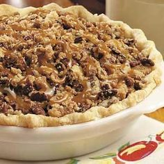 Caramel-Pecan Apple Pie Recipe from Taste of Home