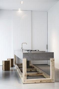 キッチンのドアイメージ