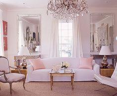 Petal Pink Living Room