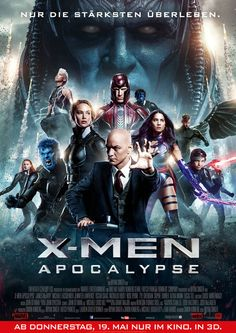 Bryan Singer - X-Men Apocalypse - MARVEL - 20th Century Fox - kulturmaterial - German Poster
