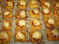 Slané jednohubky (fotorecept) - obrázok 7 Baked Potato, Sprouts, Pizza, Potatoes, Snacks, Baking, Vegetables, Ethnic Recipes, Food