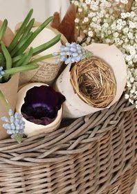 Blomsterverkstad: Vår strutar