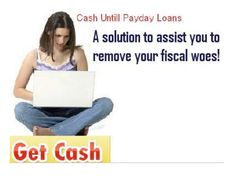 Cash until payday loans are the fiscal plan that is intended to provide emergency cash support to those individual who planned their monthly income on the basis of their salary. By the assistance of this financial service working class people can easily acquire immediate cash help. The procedure of availing this cash help is simple and completely free from the time consuming method of credit check or document faxing.