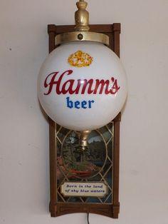 "Vintage Hamms ""Lighted"" Beer Sign                                                                                                                                                                                 More"