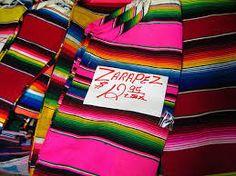 Resultado de imagen para zarapes mexicanos