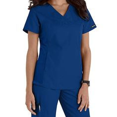 Cherokee Flexibles V-neck Scrub Tops Main Image