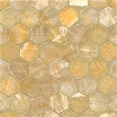 These tiles feature a beautiful onyx color with a sweet honey-toned background and waves of caramel. This mosaic is a classic hexagon pattern mounted on a 12 x 12 sheet suitable for a variety of insta Hexagon Tiles, Hexagon Pattern, Mosaic Patterns, Hexagon Tile Backsplash, Marble Mosaic, Mosaic Tiles, Wall Tiles, Mosaics, Online Tile Store