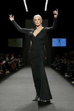 Carmen Dellorefice, she is 81 years old!