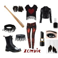 my zombie killing outfit :)