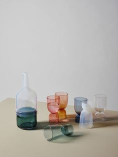 Beautiful colorful glassware | ingrid aspen