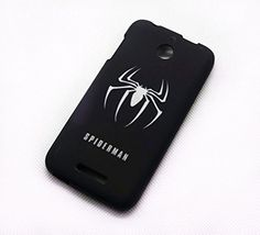 Spiderman Black Classic Cartoon Cool The Avengers Super Heroes Case Cover For Smart Mobile Phones ( HTC Desire 510 ) Jun Phone Case