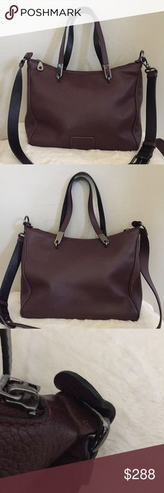 Marc by Marc Jacobs Ligero Ninja Satchel Gorgeous bag, strap has loose thread otherwise in perfect condition. Color Cardamom Marc by Marc Jacobs Bags Satchels