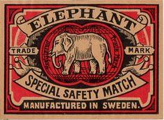 Elephant Special Safety Match