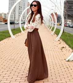 maxi skirt for the fall