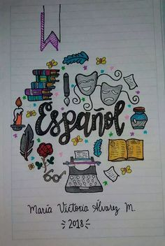 67 Cover for School Notebooks (for young people) Forums Ecuador - 67 Cover for School Notebooks (for young people) Forums Ecuador - Bullet Journal Banner, Bullet Journal School, Bullet Journal Inspo, Notebook Art, Notebook Covers, Diy Crafts To Do, School Notebooks, Lettering Tutorial, Decorate Notebook