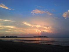 Sunset In Pak Nam Lang Suan,Chumphon.