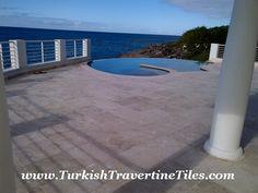 Classic Travertine Filled&Honed - Sint Maarten
