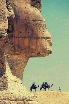 The Great Sphinx of Giza, Cairo  Egypt