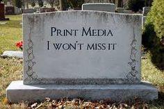 Blijven print media bestaan? En hebben we 'straks' alleen online communicatiemedewerkers in dienst?