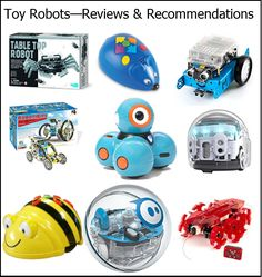 Reviews and recommendations about popular toy robot gifts for kids age 3 - 10.