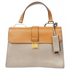 Pre-owned Miu Miu Handbag (3,905 ILS) ❤ liked on Polyvore featuring bags, handbags, camel, hand bags, miu miu bag, purse bag, camel bag and miu miu purse