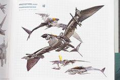 ZOIDS Concept Art by Parka81, via Flickr