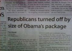 It's not the size of the package as much as its stimulus effect