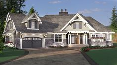 Exciting Craftsman House Plan - 14651RK | 1st Floor Master Suite, Bonus Room, CAD Available, Craftsman, Den-Office-Library-Study, Jack & Jill Bath, MBR Sitting Area, Mountain, Northwest, PDF, Split Bedrooms | Architectural Designs