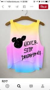 Resultado de imagem para never stop dreaming disney