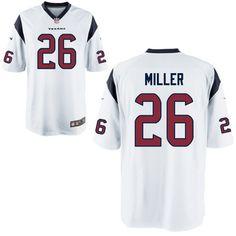 5d7f24947077 2016 Houston Texans 26 MILLER white Nike Kids Jerseyscheap nfl  jerseys